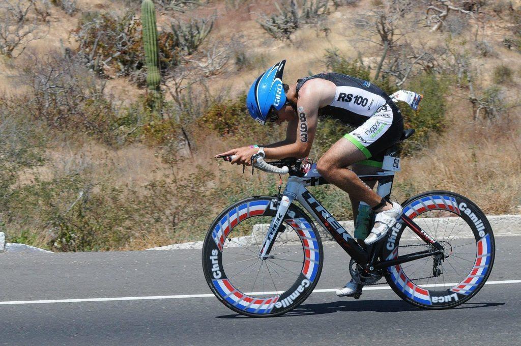 Triathlon - rowerzysta